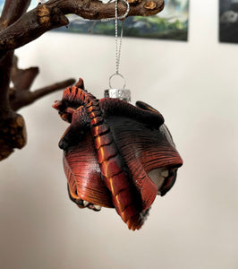 Fiery Dragon Bauble