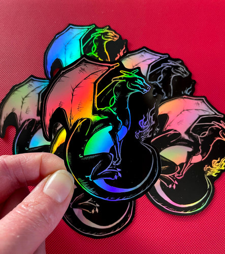 Charizard Holo Sticker