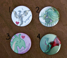 Load image into Gallery viewer, Original Artwork Badges (Set of 4)