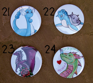 Original Artwork Badges (Set of 4)