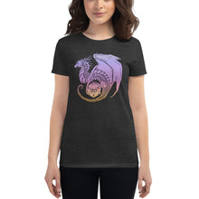 Load image into Gallery viewer, D20 Guardian Dragon (Pastel) Women's short sleeve t-shirt