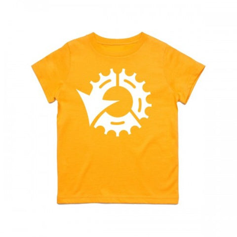 CENTRE KIDS TEE - GOLD