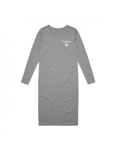 VALUE 2.0 LONGSLEEVE DRESS - GREY