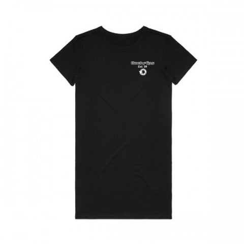 VALUE 2.0 SHORTSLEEVE DRESS - BLACK