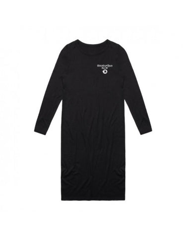 VALUE 2.0 LONGSLEEVE DRESS - BLACK
