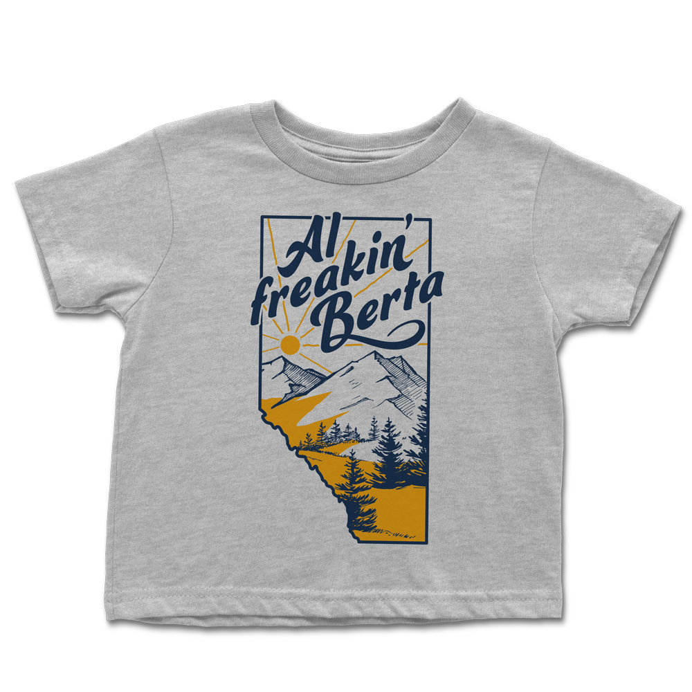 Al Freakin' Berta Toddler Tee *FINAL SALE*