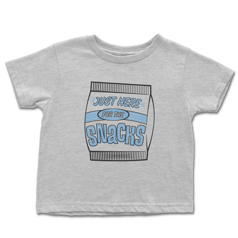 Just Here for the Snacks Toddler T-shirt *FINAL SALE*