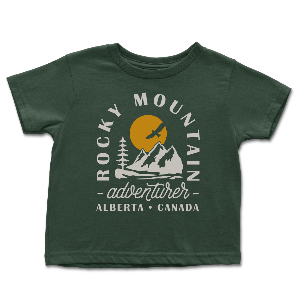 Rocky Mountain Adventurer Toddler T-shirt *FINAL SALE*