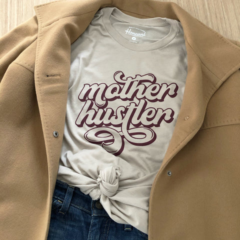 Mother Hustler Boyfriend Tee