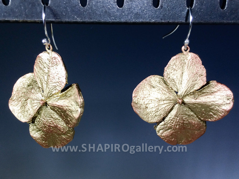 Hydrangea Earrings Large
