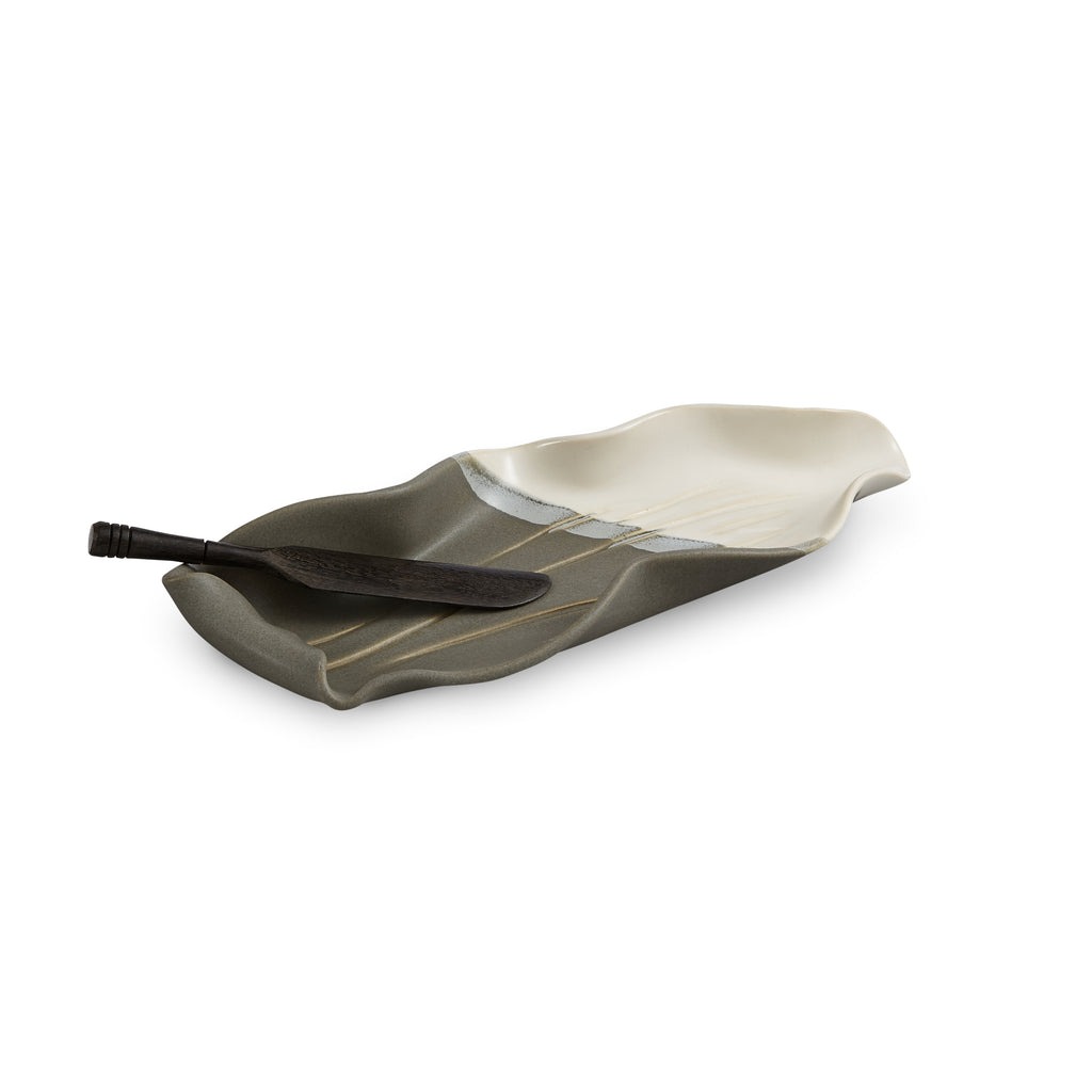 Stick Butter Dish - Gray