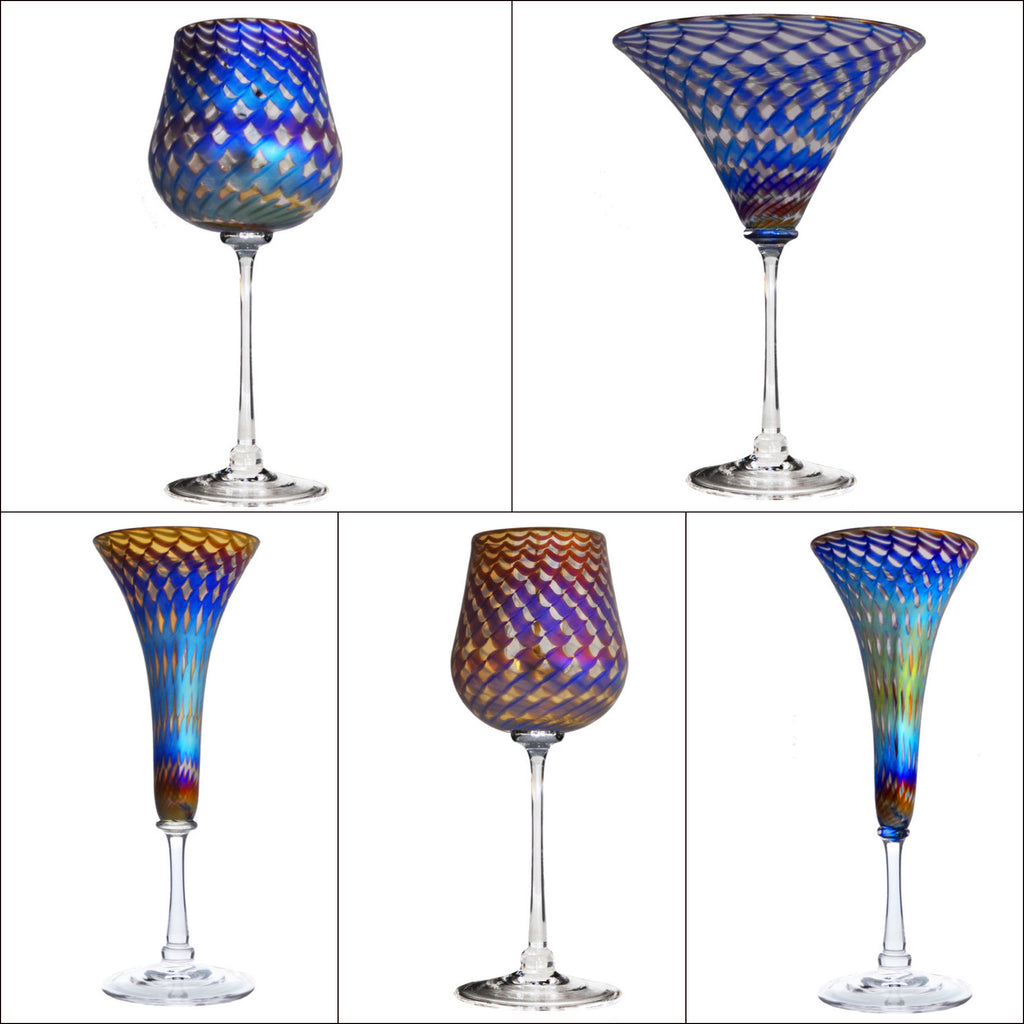 Honeycomb Stemware (multiple styles)