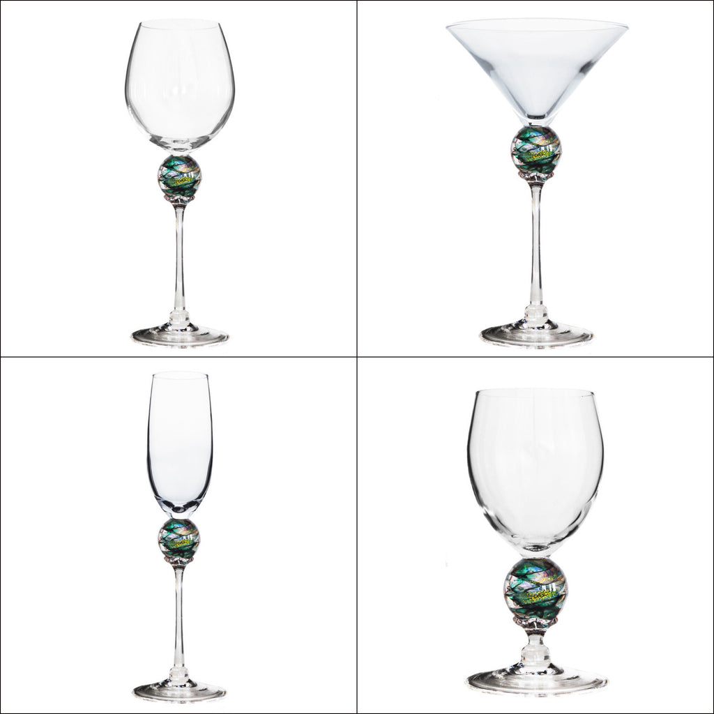 Green Planet Stemware (multiple styles)