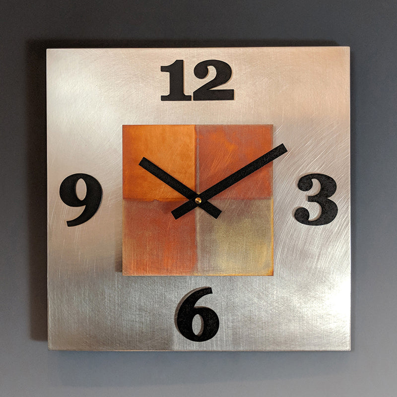 Kitchen Steel Clock