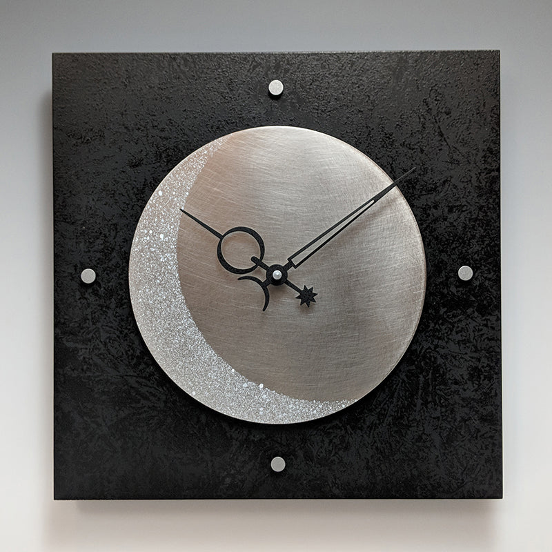 Square Eclipse Clock
