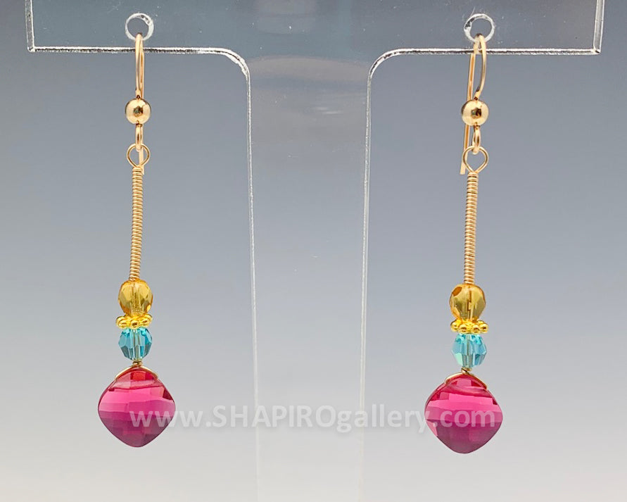 Colorful Classic Everyday Earrings