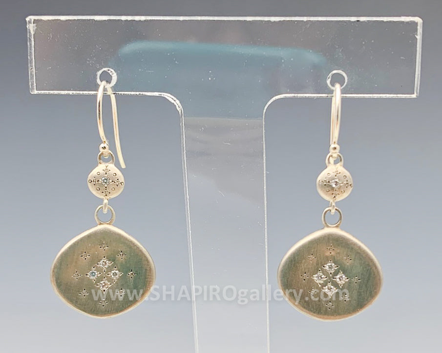Silver Light Earrings
