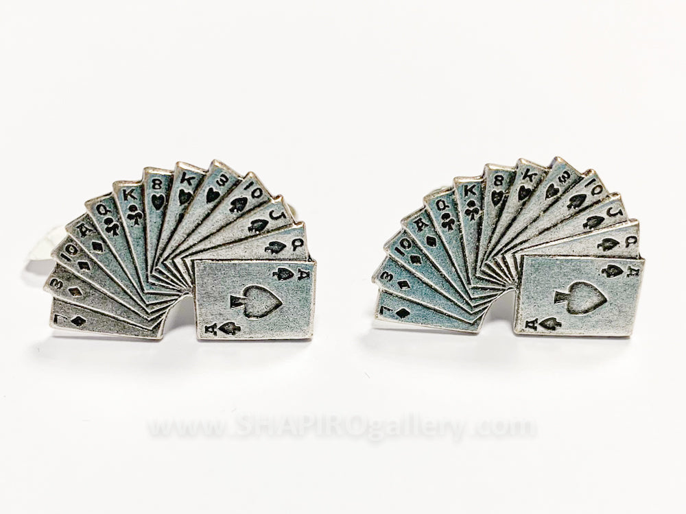 Deck of Cards Cufflinks