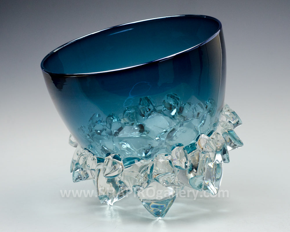 Steel Blue Thorn Bowl
