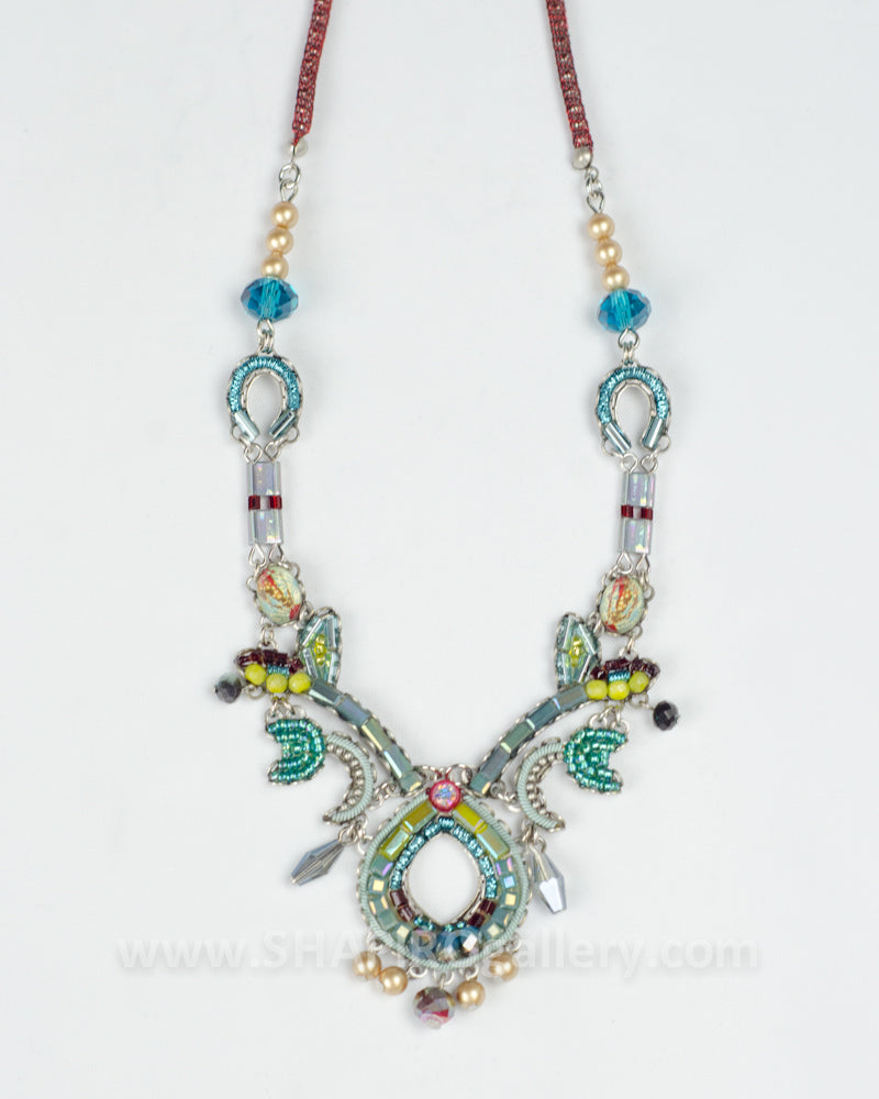 Navaeh Necklace - Turquoise Crown
