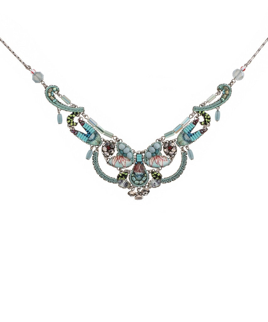 Gina Necklace - Tapestry Delight