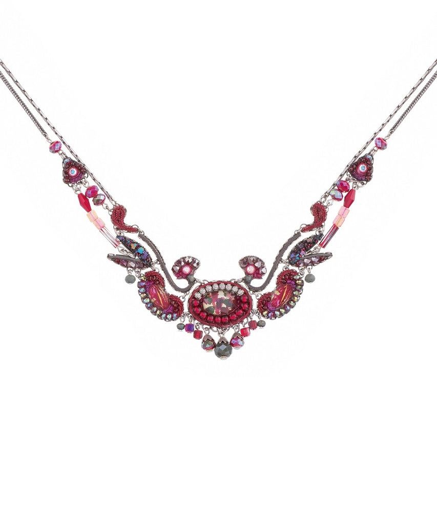 Princess Necklace - Crimson Flame