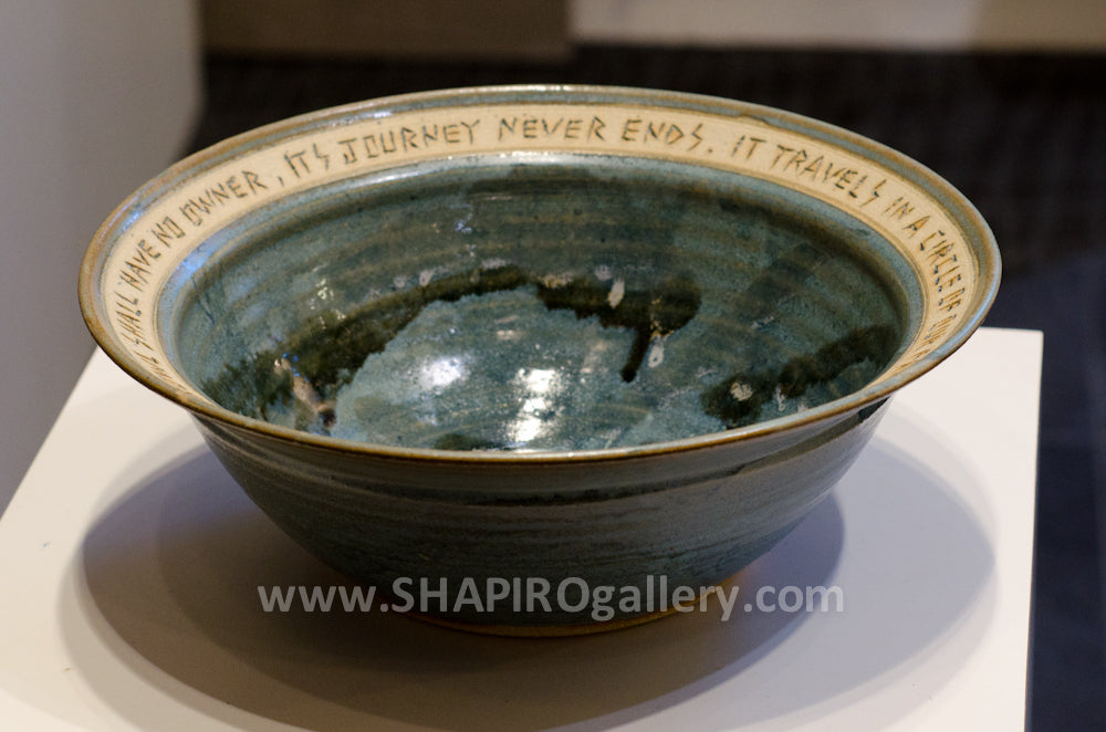 Family Bowl - Large Slate Blue