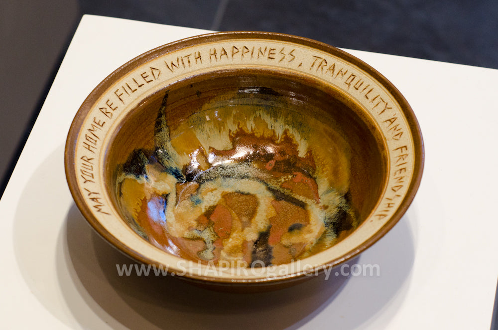 House Warming Bowl - Small Sienna