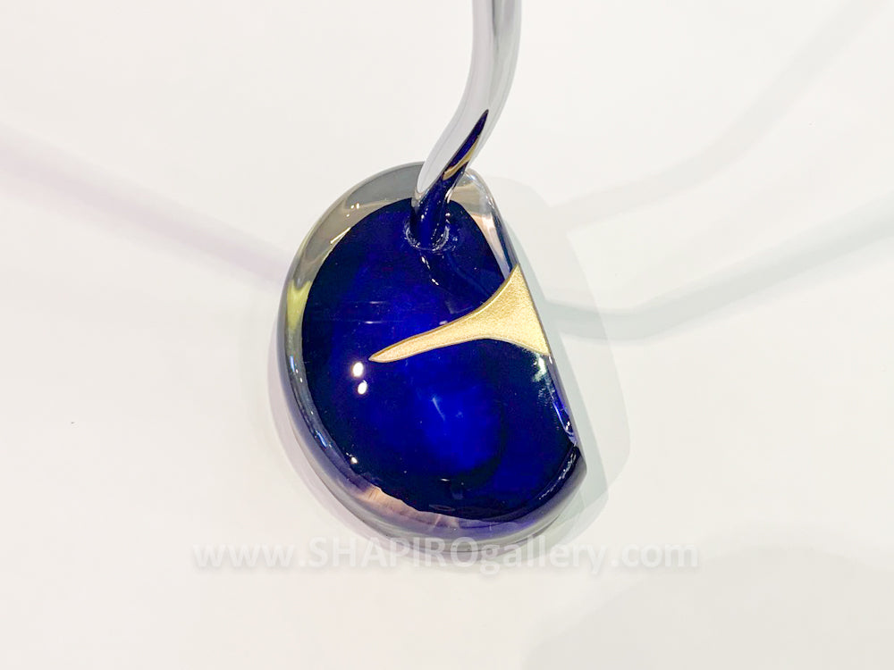 Blown Glass Putter - Dark Blue