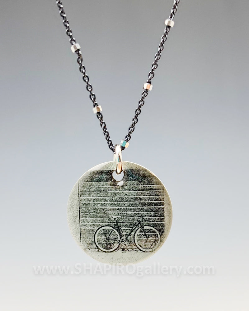 Bike in the City Necklace