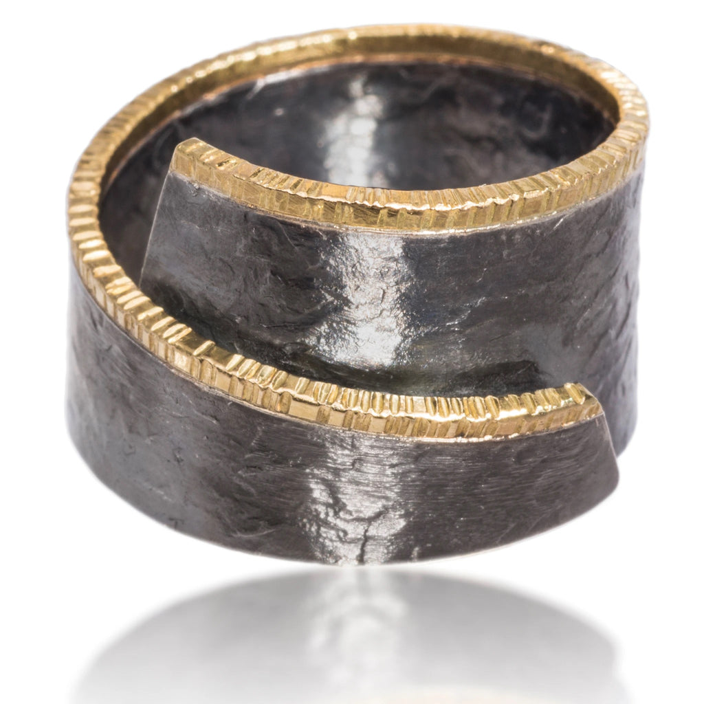 Wrap Around Cyclone Ring