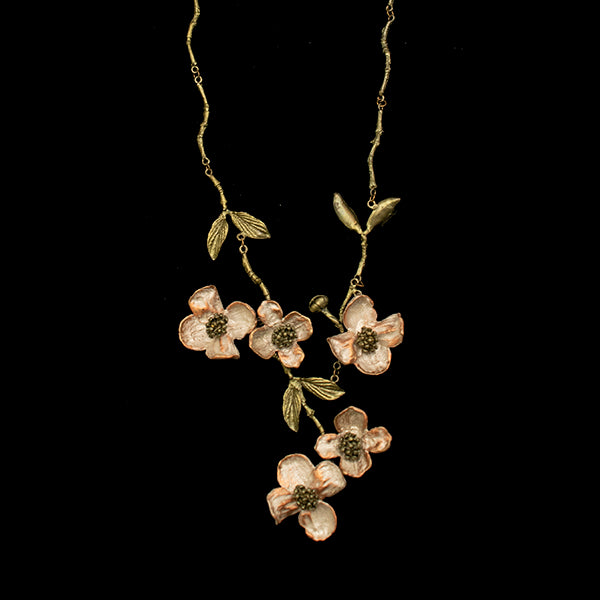 Dogwood Spray Necklace