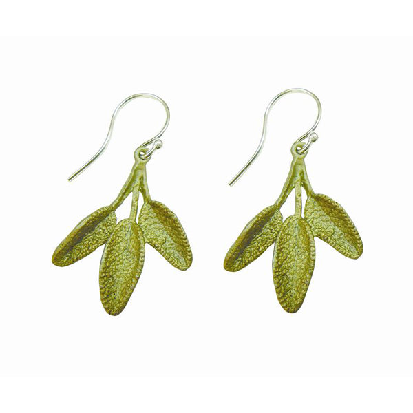 Petite Sage Earrings