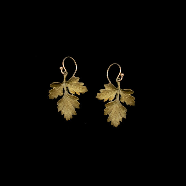 Parsley Earrings Petite Herb