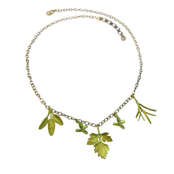 Petite Herb Necklace