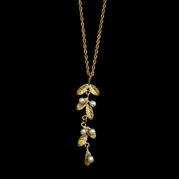 Petite Leaf Necklace
