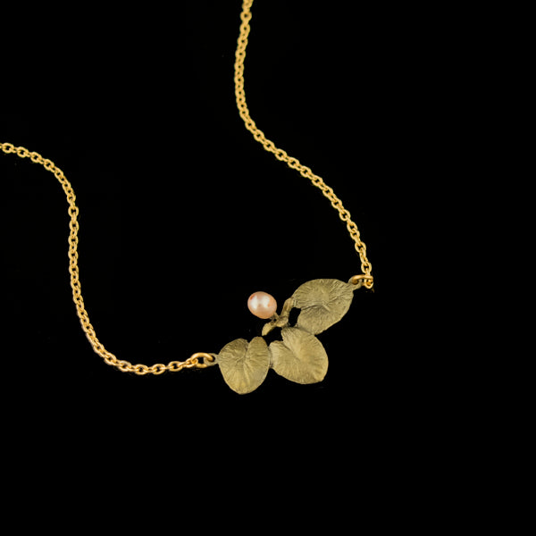 "Waterlily 16"" Adjustable Necklace"