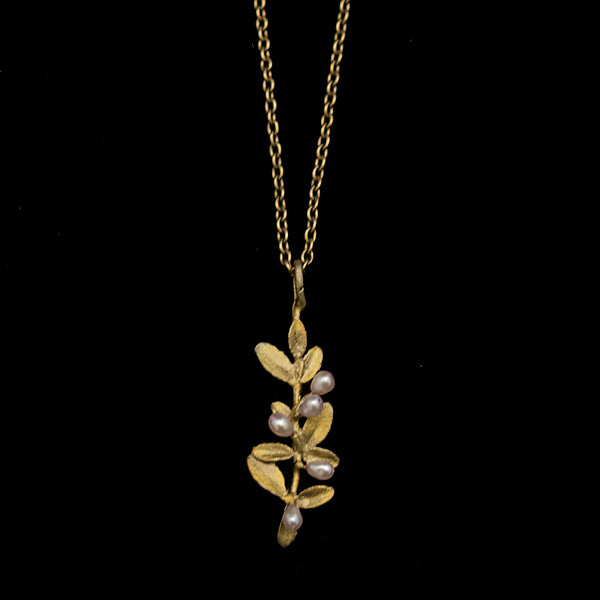 Flowering Thyme Dainty Necklace