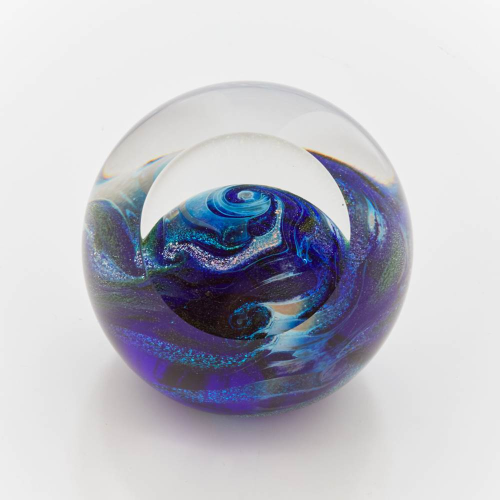 Blue Planet Paperweight