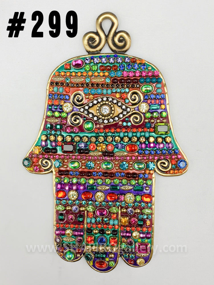 Large Wall Hamsa (many colors available)