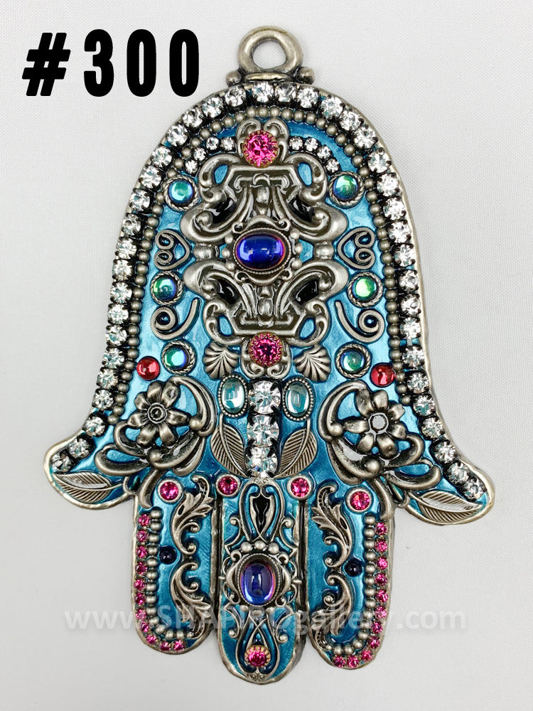 Small Wall Hamsa (many colors available)