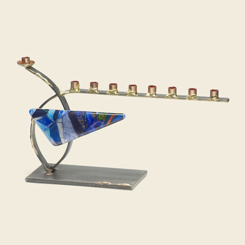 Small Curved Menorah