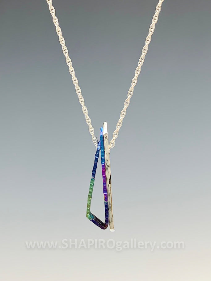 Triangle Niobium Necklace