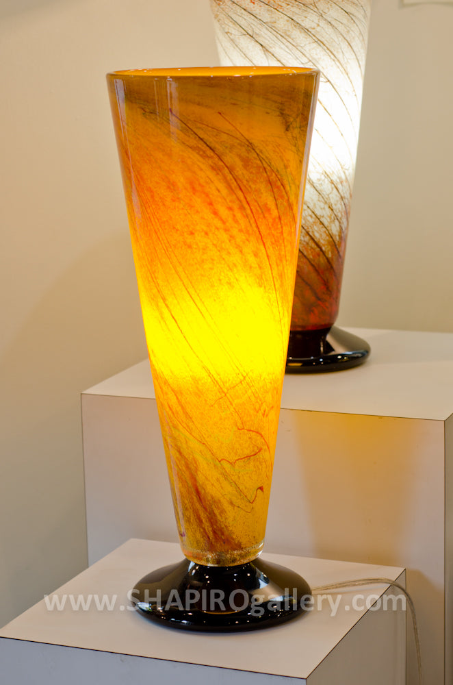 Tuscany Blown Glass Lamp