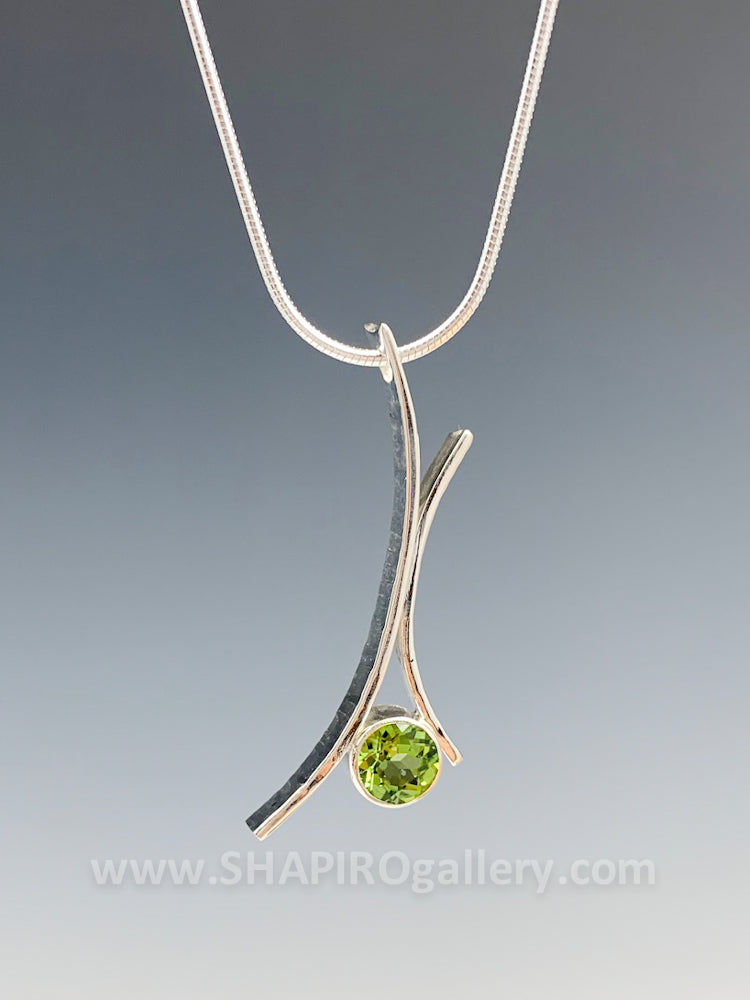 Peridot Whisp Necklace
