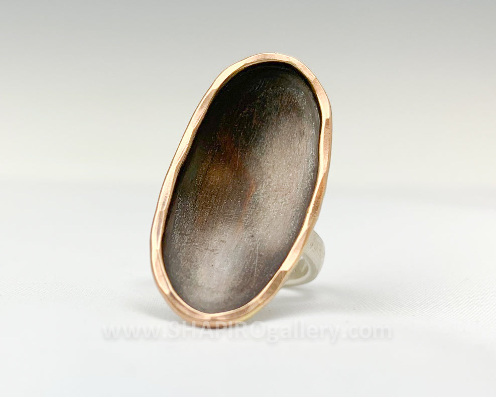 Oval Dish Ring