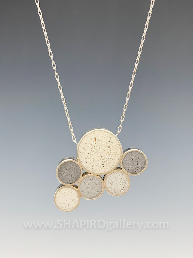 Cloud Concrete Necklace