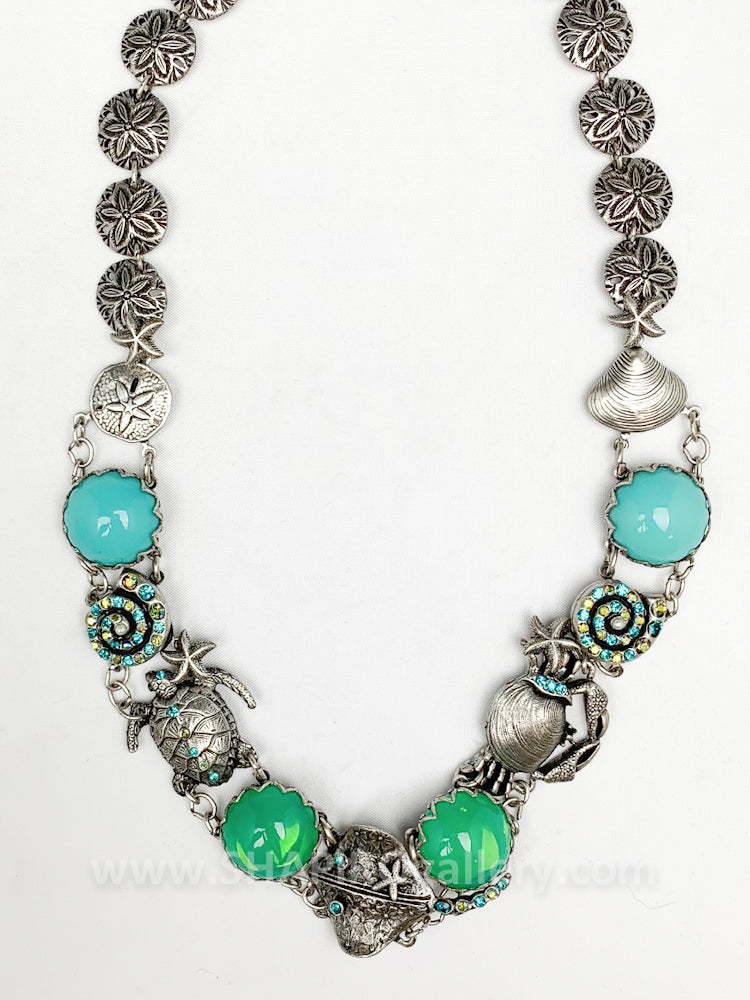 Ocean Statement Necklace