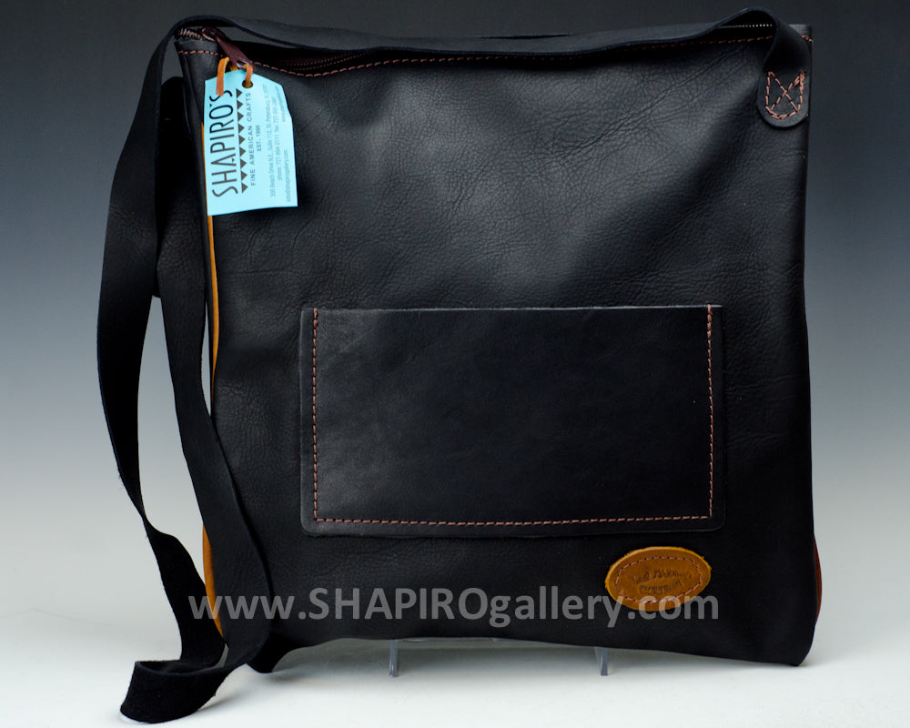 Zip Tote Side Bag - Black