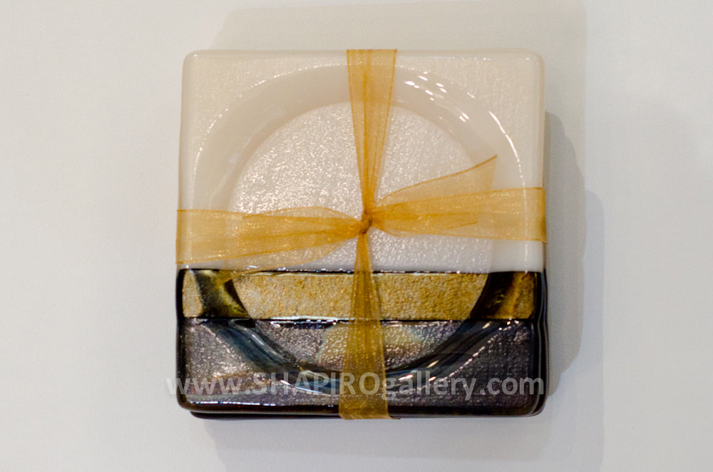 Neutral Zone Glass Coasters